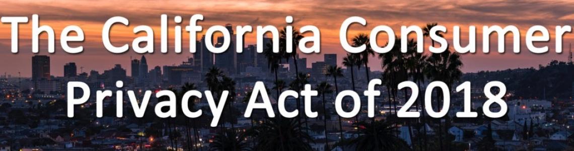 Will California's Consumer Privacy Law Impact Data Privacy?