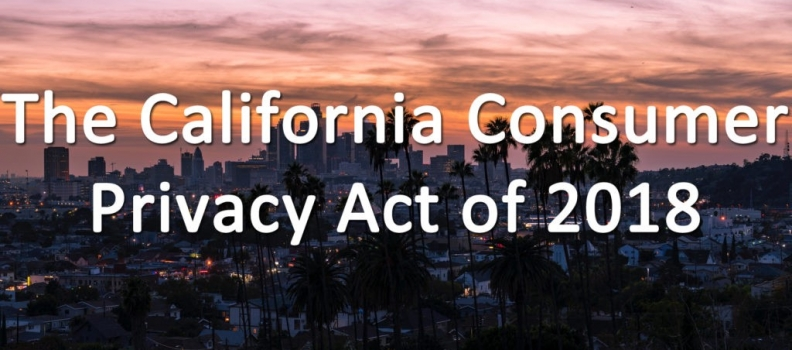 Will California's Consumer Privacy Law Impact Data Privacy?